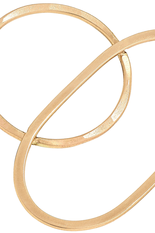 Melissa Joy Manning + NET SUSTAIN 14-karat gold earrings