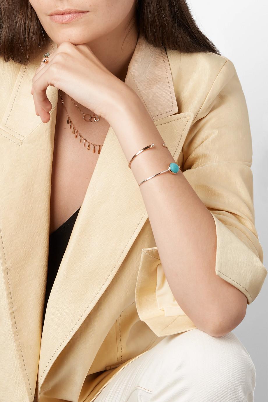 Melissa Joy Manning 14-karat gold diamond cuff