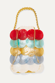Noisette beaded shell tote