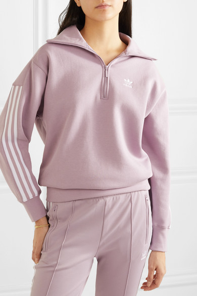 adidas Cropped W Hoodie Soft Vision Purple: Amazon.co.uk