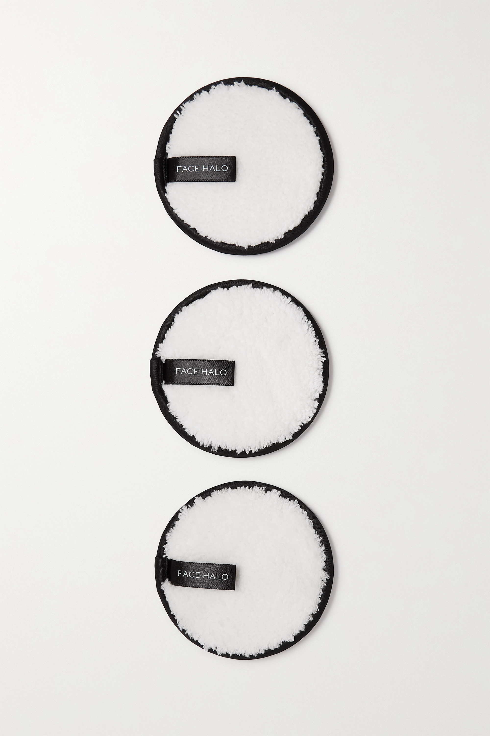 Face Halo Set of three makeup remover pads