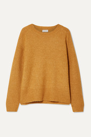 Ana rib-trimmed knitted sweater