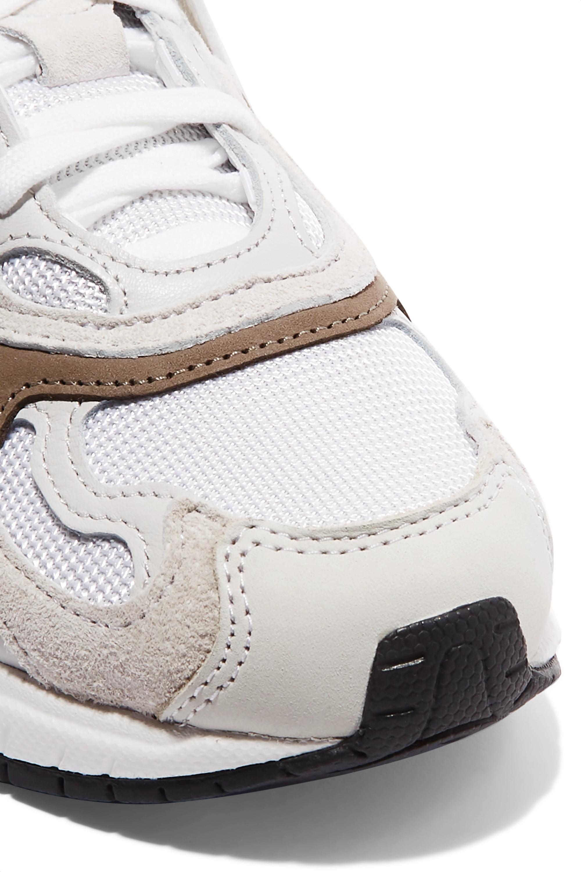 adidas Originals Temper Run 皮革边饰网眼绒面革运动鞋