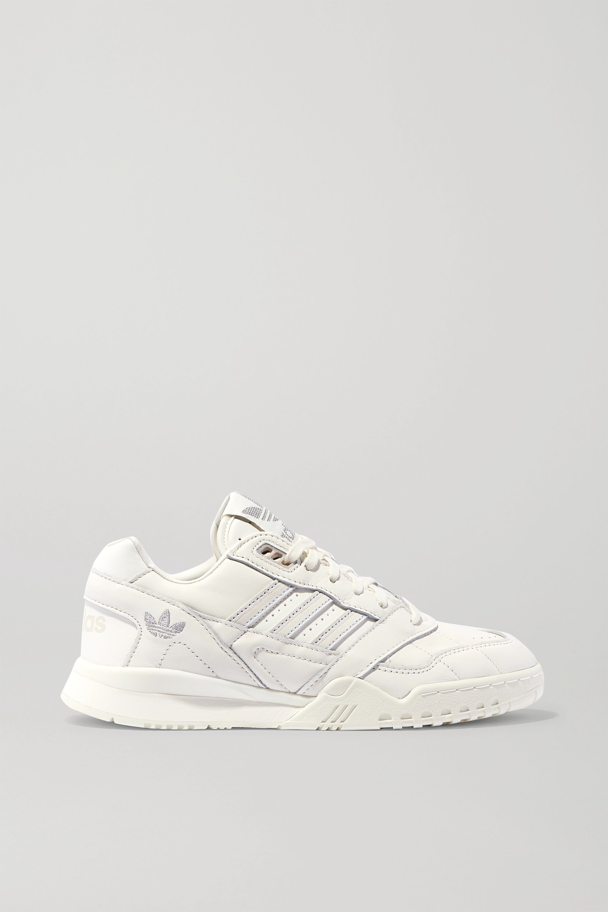Off-white A.R. Trainer suede-trimmed