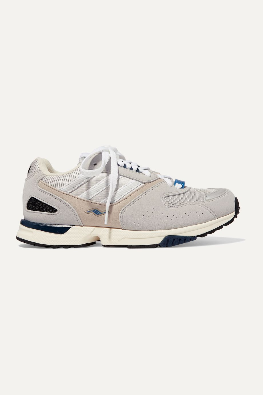 adidas Originals ZX 4000 suede and mesh sneakers