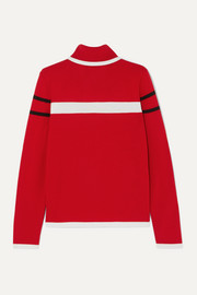 Erin Snow Kito striped merino wool turtleneck sweater