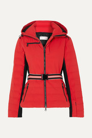 Erin Snow Kat hooded belted jacket