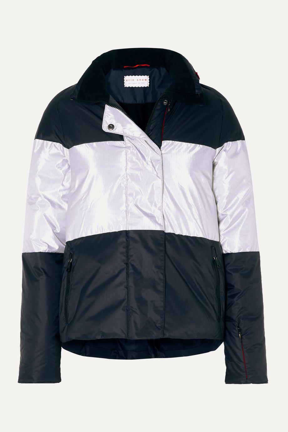 Erin Snow Lola striped ski jacket