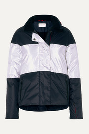 Lola striped ski jacket