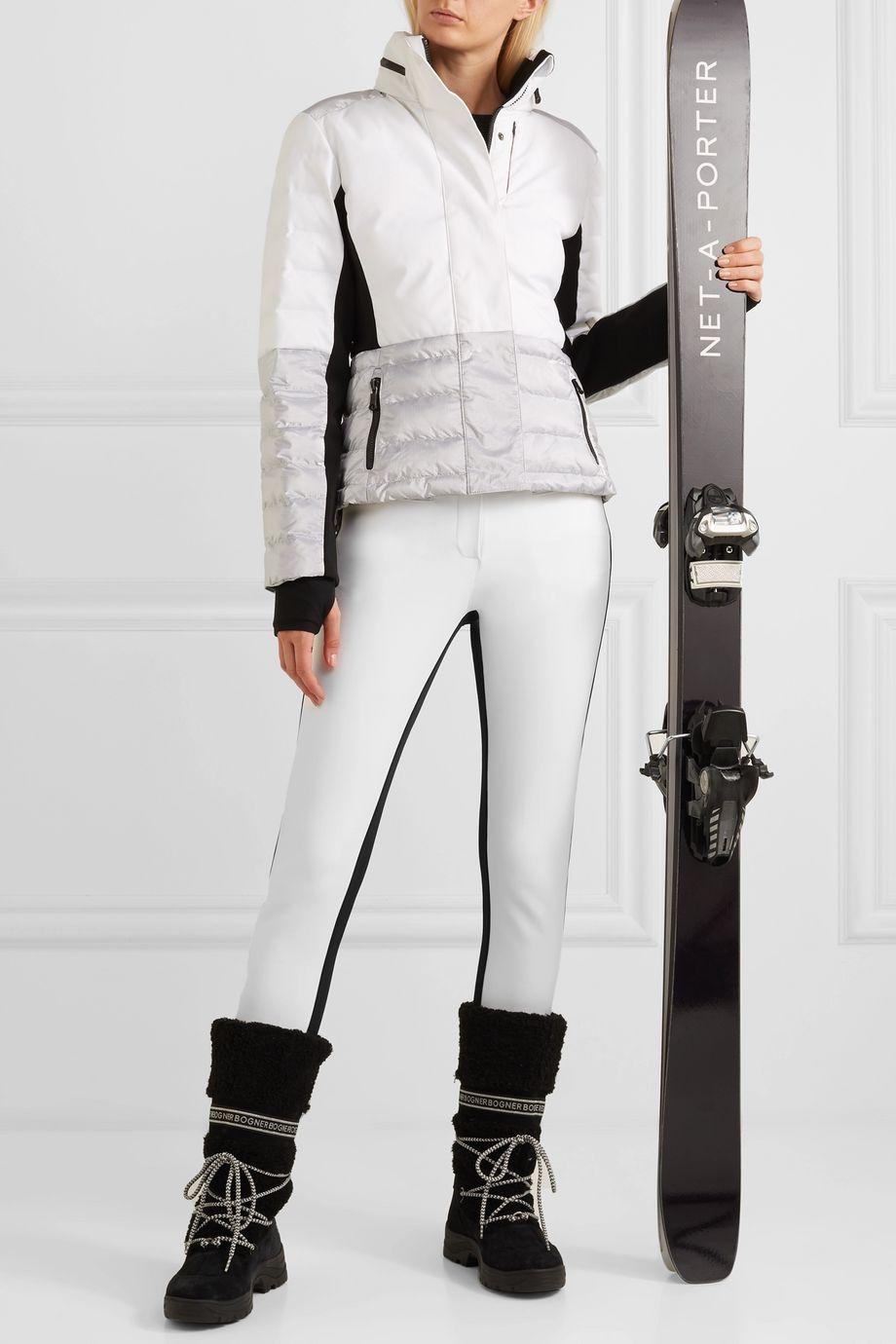 Erin Snow Jes two-tone ski pants