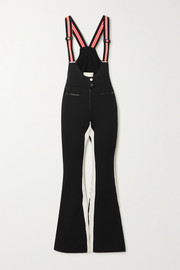 Erin Snow Kris striped bootcut ski pants
