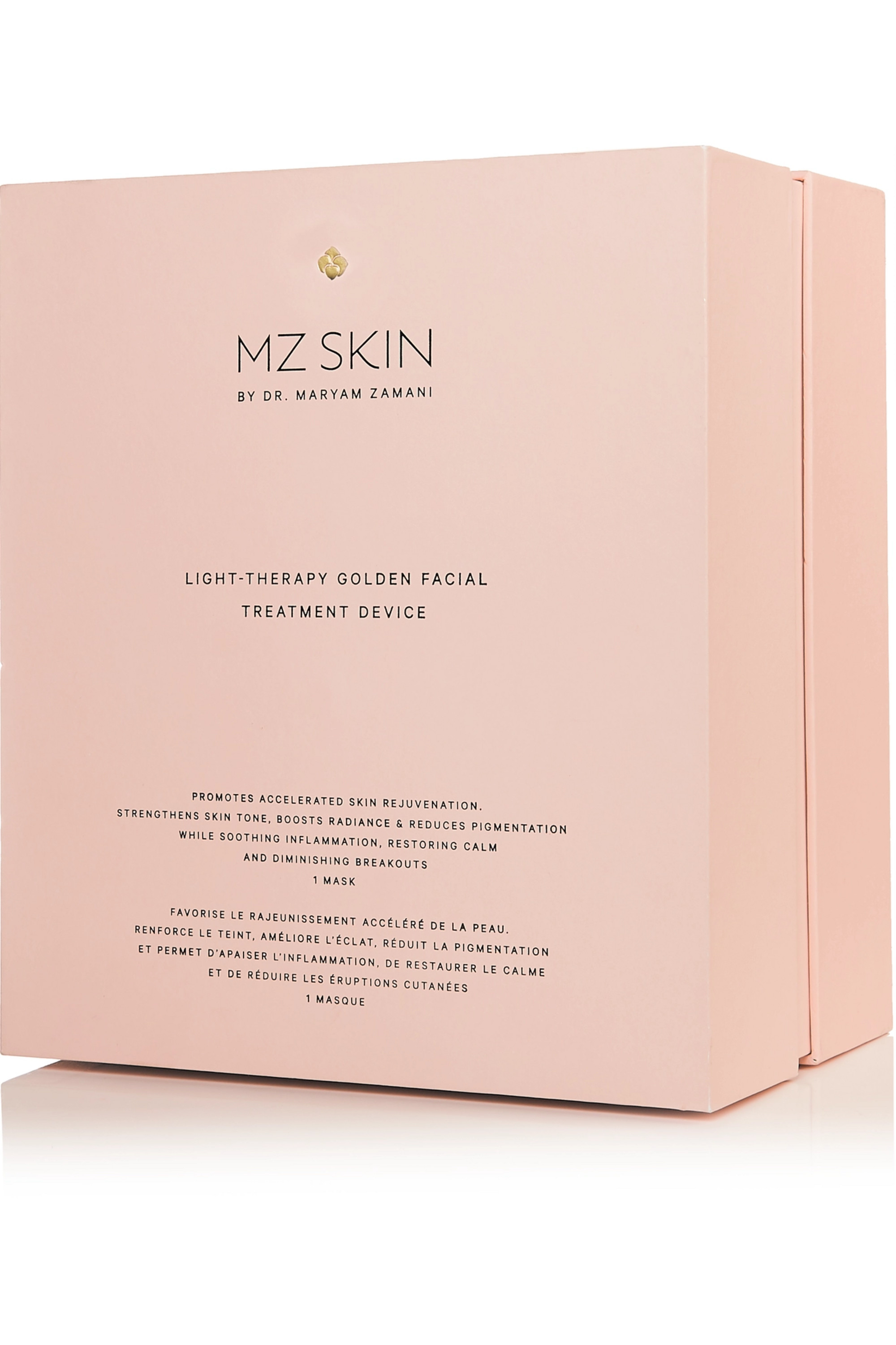 MZ Skin Light-Therapy Golden Facial Treatment Device