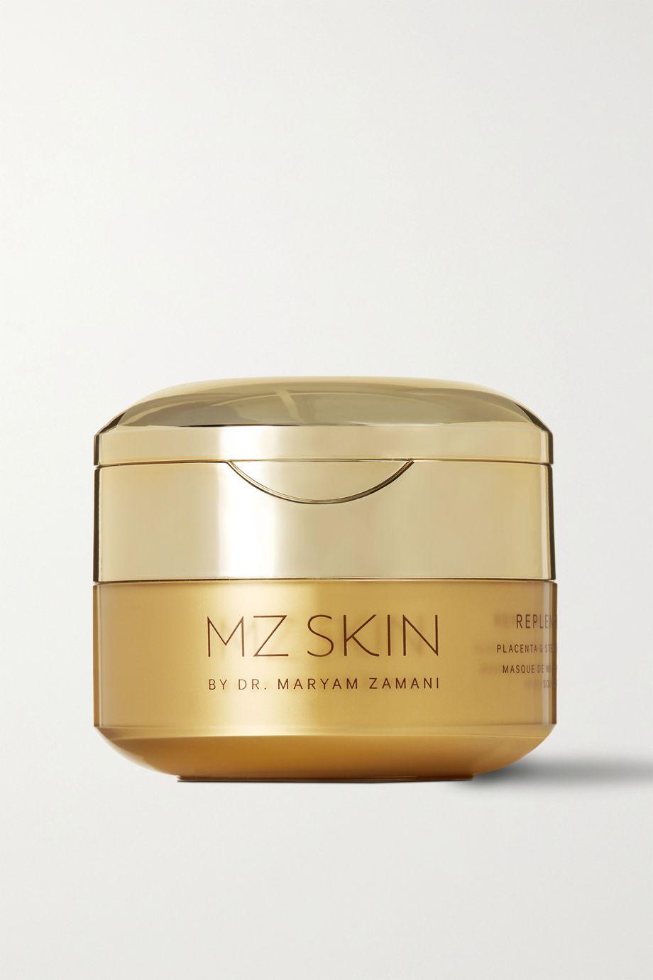 MZ Skin Masque de nuit réparateur aux cellules souches et placenta Replenish & Restore, 30 ml