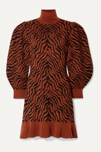 Ulla Johnson Dresses Joni merino wool-jacquard mini dress