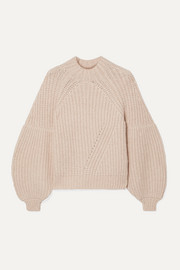 Ulla Johnson Lucille ribbed alpaca-blend sweater
