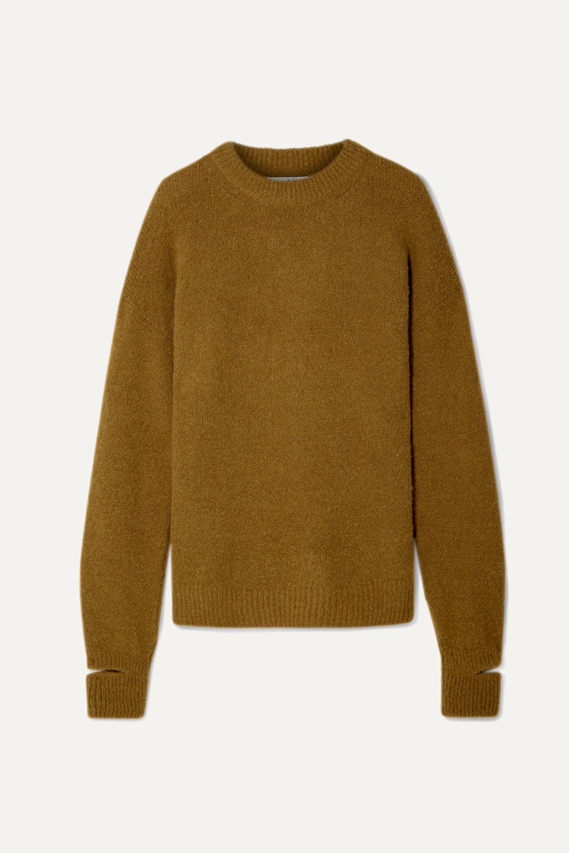 Tibi Airy oversized alpaca-blend sweater