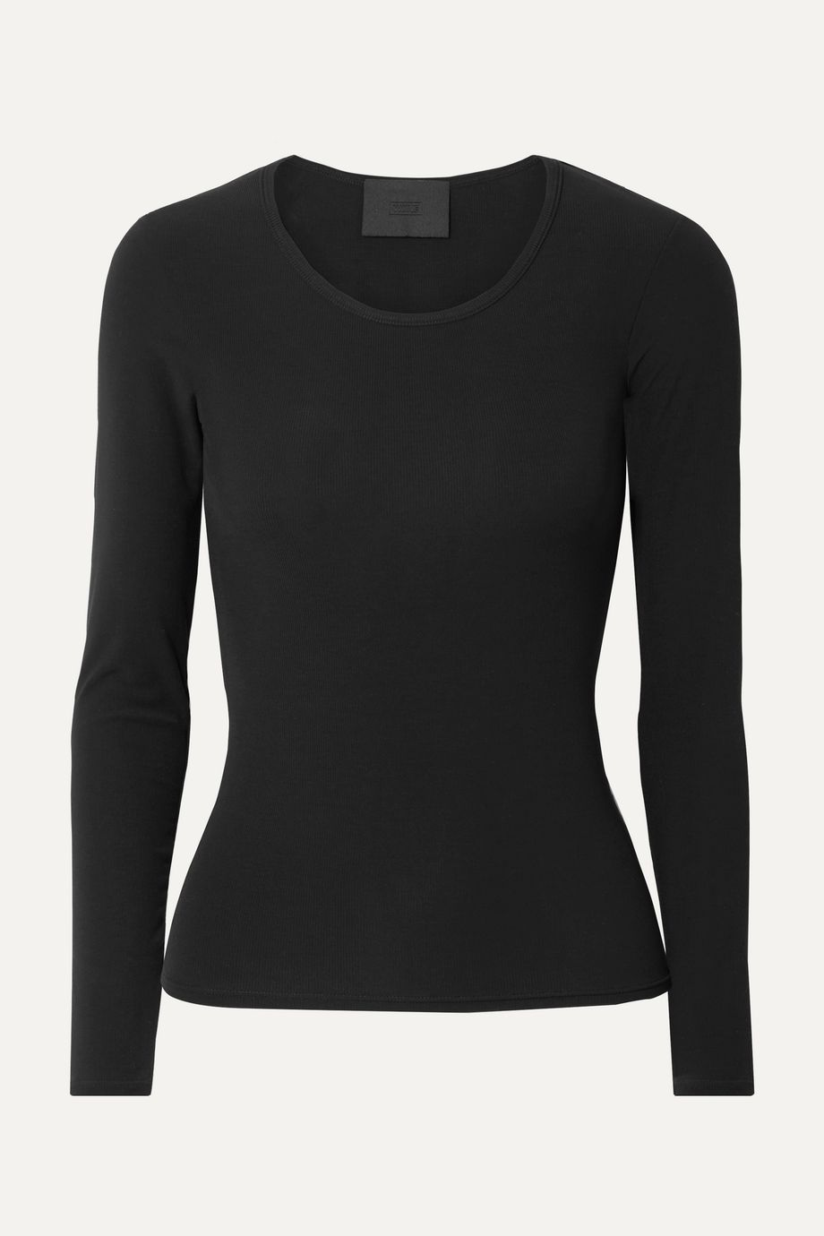 WONE Ribbed Micro Modal-blend jersey top