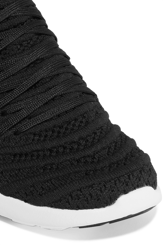 Black TechLoom Wave mesh sneakers | APL