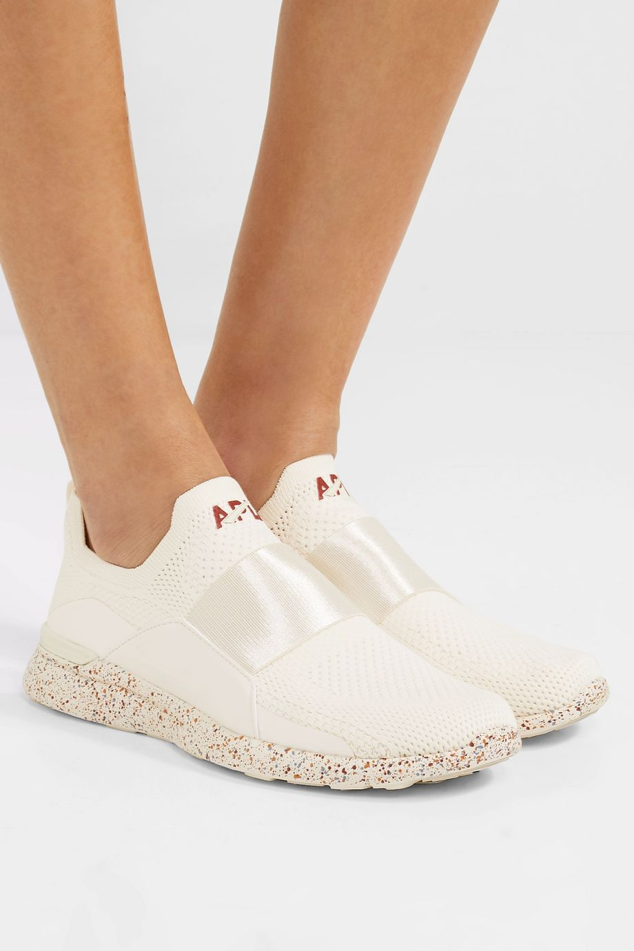 APL Athletic Propulsion Labs TechLoom Bliss mesh and neoprene sneakers