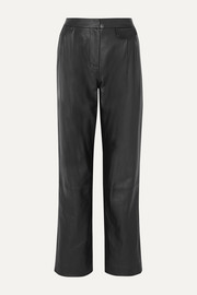 3.1 Phillip Lim Pleated leather pants