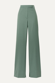3.1 Phillip Lim Wool-blend crepe flared pants