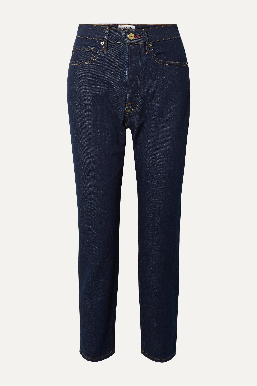 FRAME Le Original high-rise straight-leg jeans