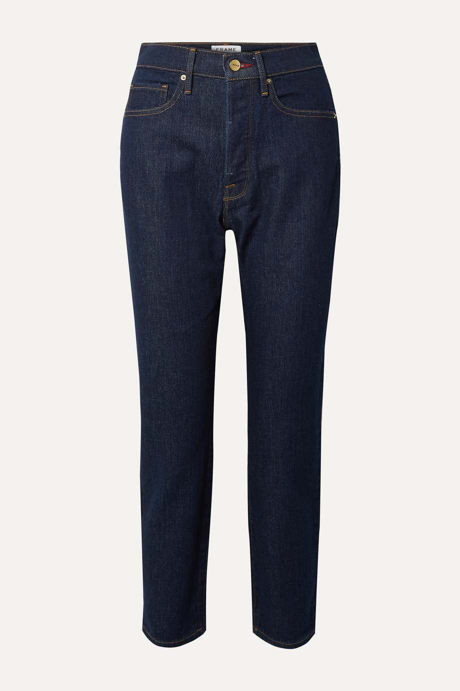 FRAME Le Original high-rise straight-leg jeans