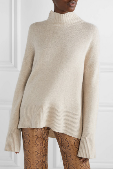 Cashmere Turtleneck Sweater by Frame