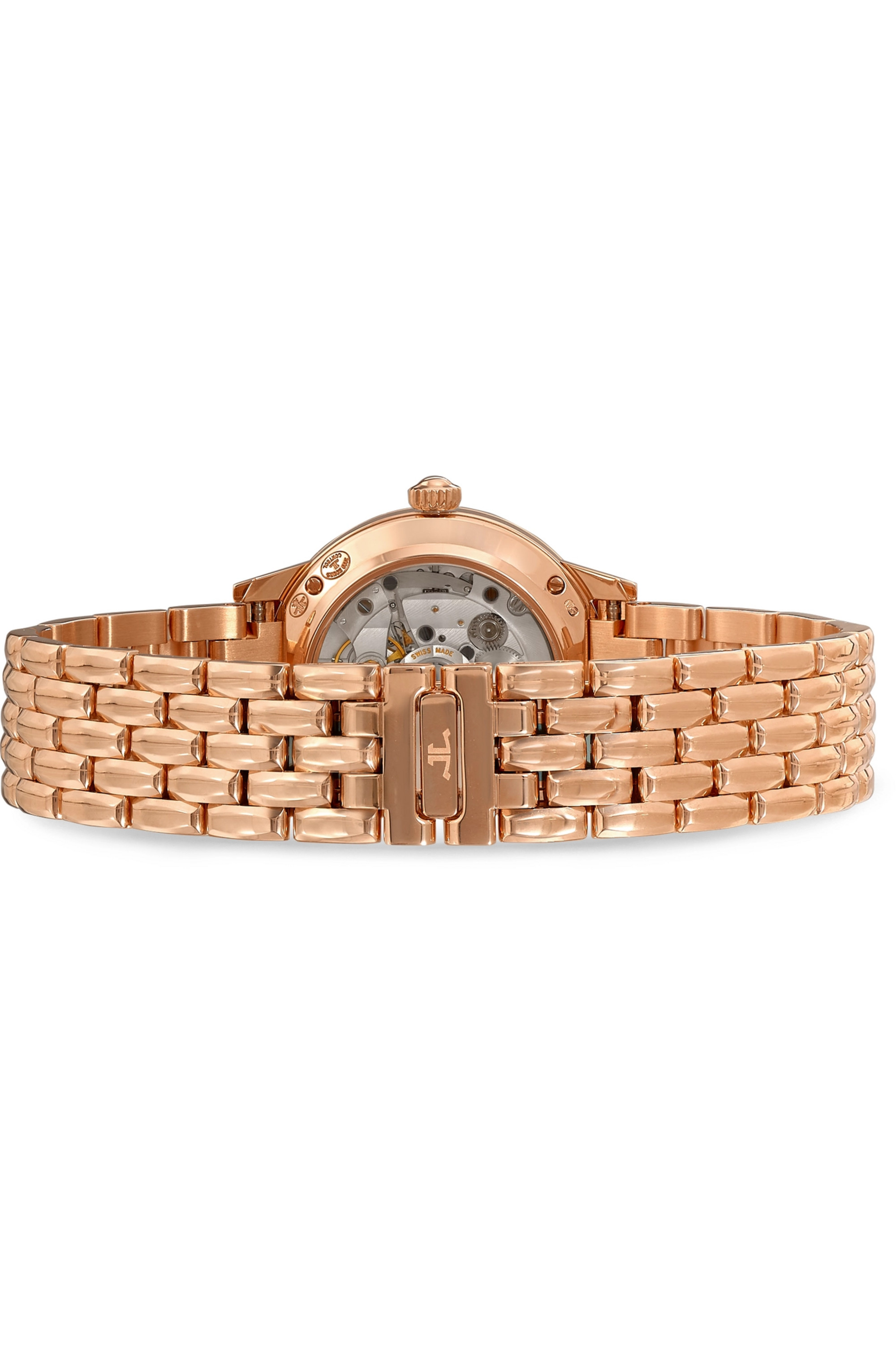 Jaeger-LeCoultre Rendez-Vous Night & Day 29mm small rose gold and diamond watch