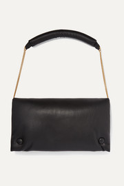 Anjou vegan leather shoulder bag