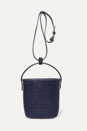 TL-180 Saigon woven leather shoulder bag