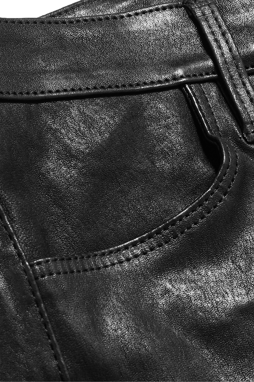 J Brand Maria 皮革紧身裤