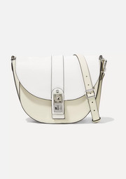 Proenza Schouler PS11 Saddle medium two-tone leather shoulder bag