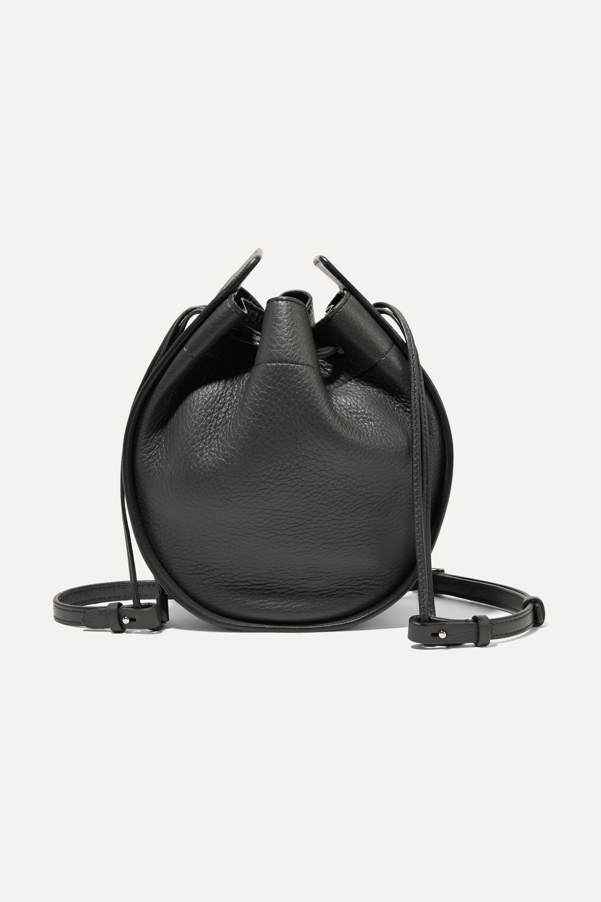 The Row Textured-leather bucket bag