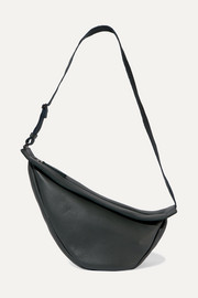 The Row Slouchy Banana large textured-leather shoulder bag