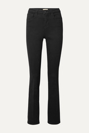 L'Agence Oriana high-rise straight-leg jeans