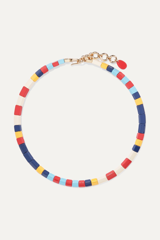 Roxanne Assoulin Regatta enamel necklace