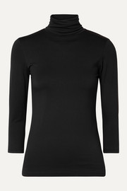 Aja stretch-jersey turtleneck top
