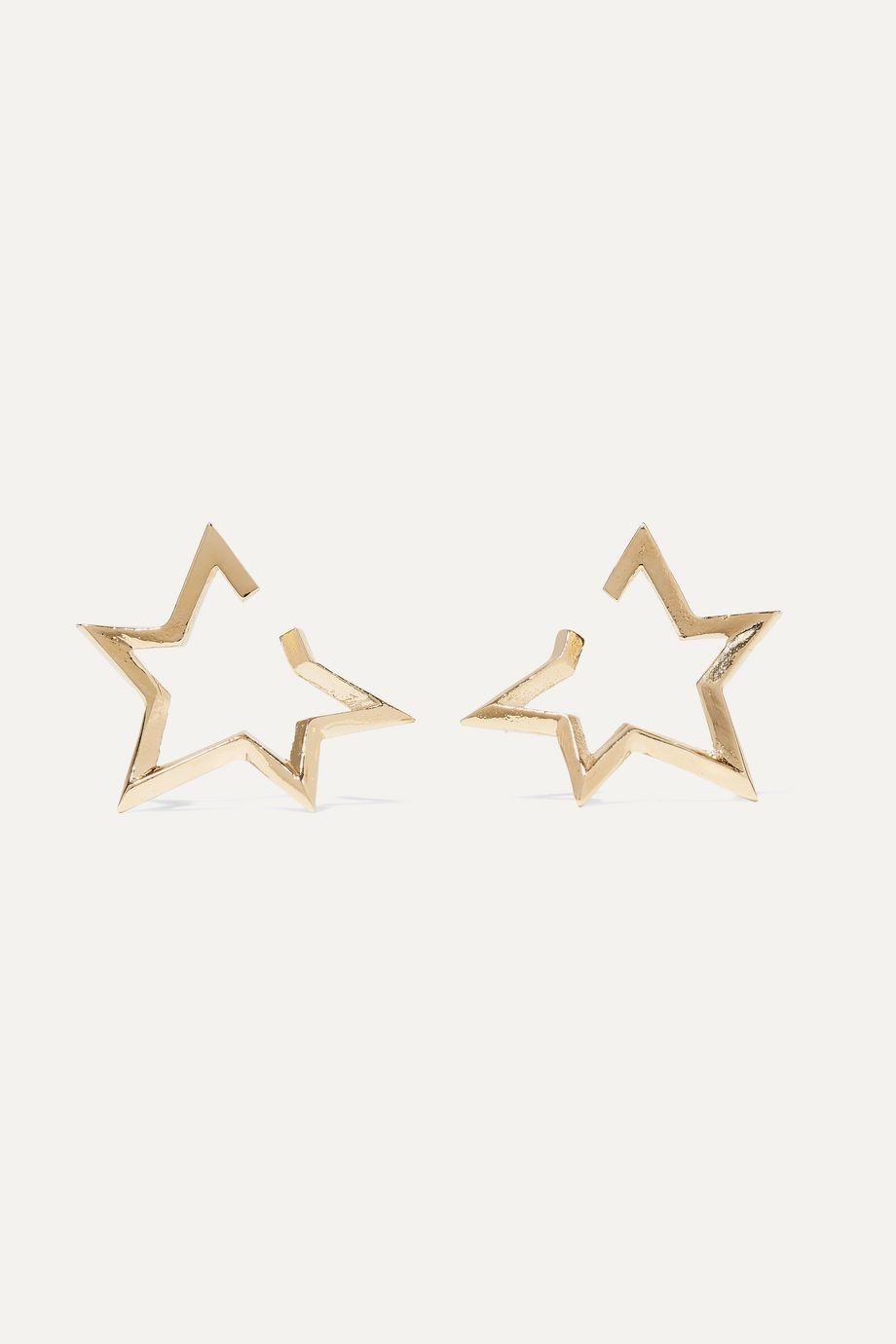 Jennifer Fisher Boucles d'oreilles en plaqué or Baby Classic Star