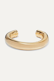 Tube gold-plated cuff