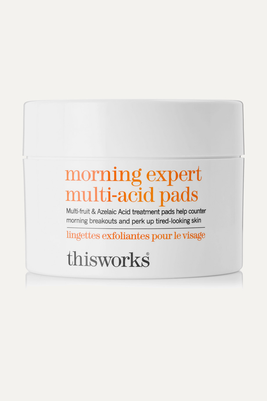 This Works Morning Expert Multi-Acid Pads – 60 Pads – Reinigungs-Pads