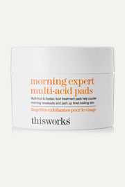 This Works Morning Expert Multi-Acid Pads - 60 pads
