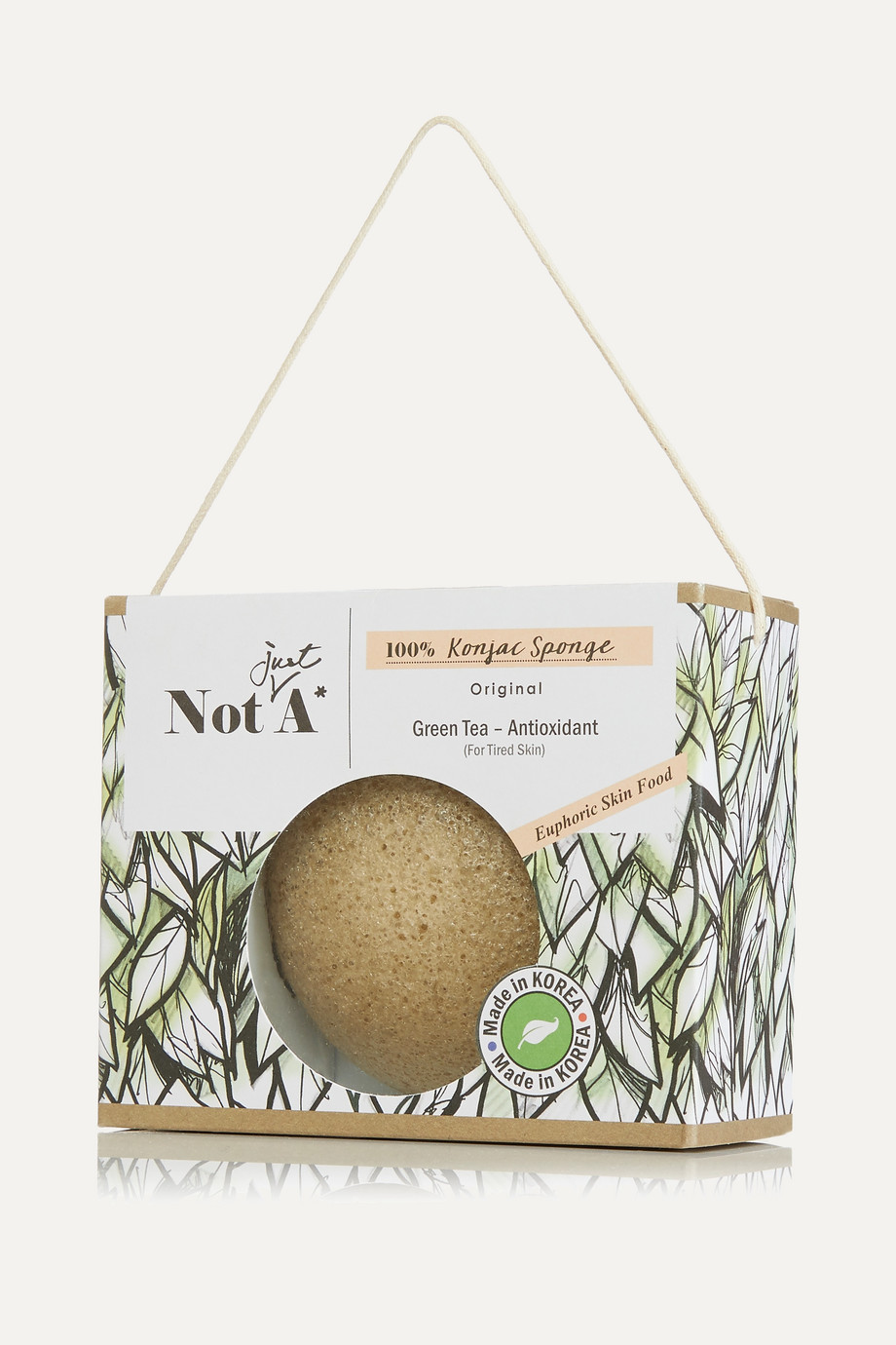 Not Just A* Konjac Face Sponge – Green Tea – Gesichtsschwamm