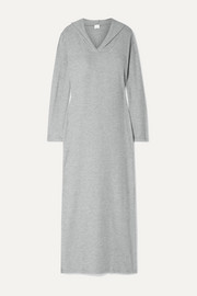 Hooded terry nightdress