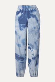 Moncler Genius + 3 Moncler Grenoble tie-dyed tapered ski pants