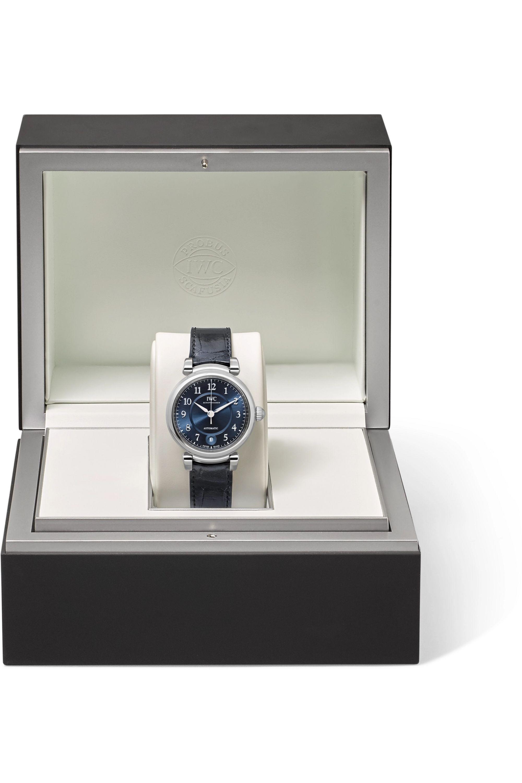 IWC SCHAFFHAUSEN Da Vinci Automatic 36mm stainless steel and alligator watch