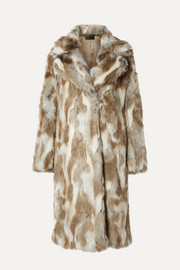 Simon faux fur coat