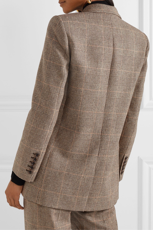 Nili Lotan Diane Prince of Wales checked wool-blend blazer