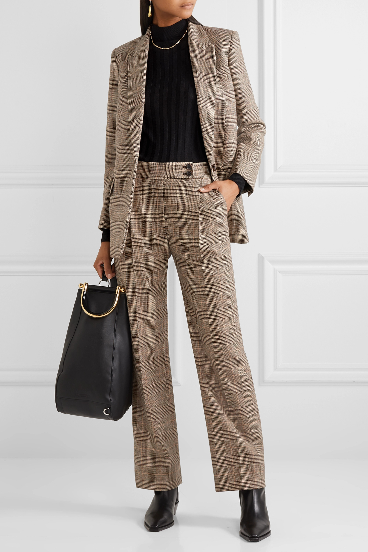 Nili Lotan Diane Blazer aus einer Wollmischung mit Glencheck-Muster