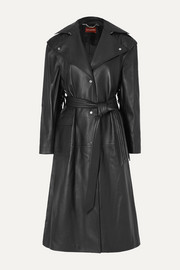 Dickson fringed leather trench coat